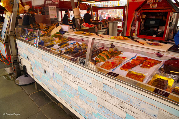 Bergen Fischmarkt AIDAperla
