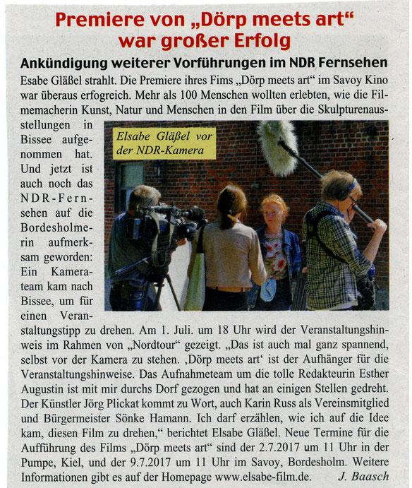 Bordesholmer Nachrichten 21.6.2017