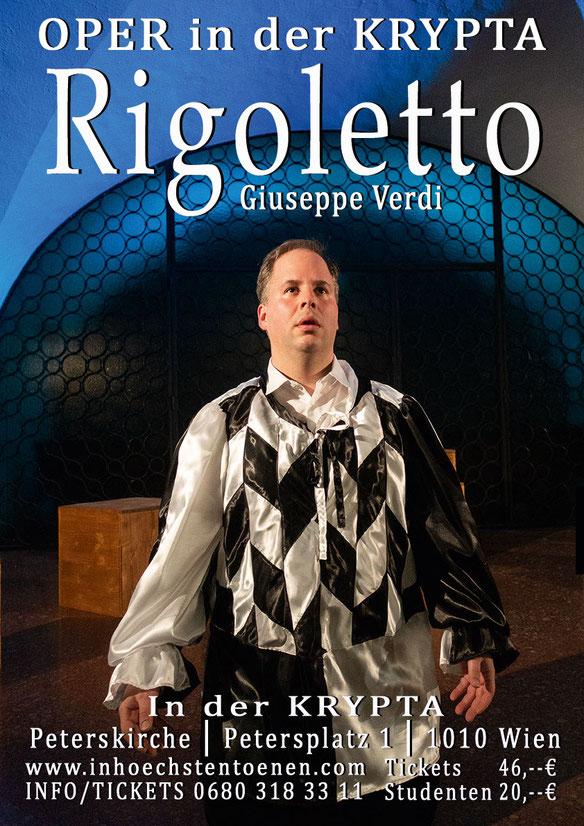 RIGOLETTO - Giuseppe Verdi  in der KRYPTA