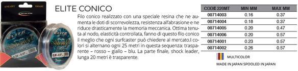 MONOFILO TUBERTINI DRAGON NEUTRAL 100 MT 0,16 mm FILO PESCA MULINELLO FINALI