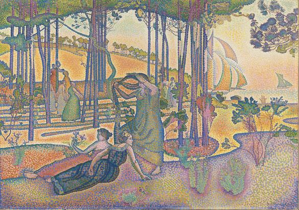 《L'air du soir》1893年