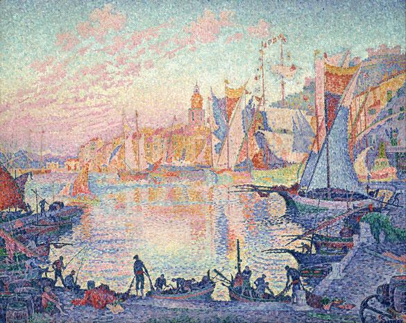 《サントロペ港》1901年