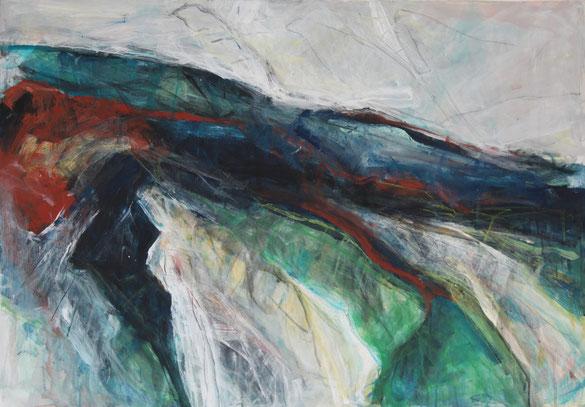 Civitella, Acryl auf Leinwand, 100cm x 70cm, 2009