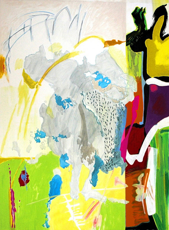 Taille de la peinture : 180 x 120 cm