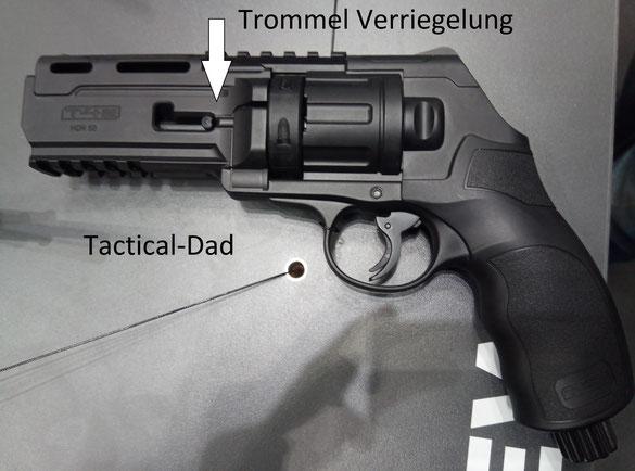 Der Umarex HDR 50 Revolver.