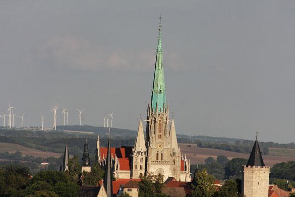 Mühlhausen von Westen gesehen