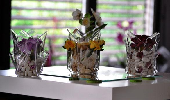 Foto: Acrylglas Vase klein