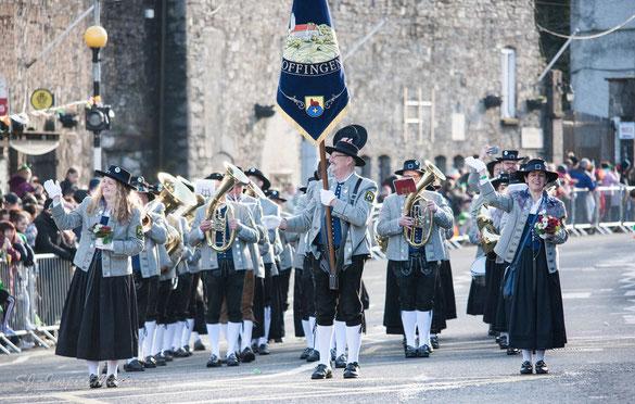März 2019: St. Patrick's Paraden in Irland