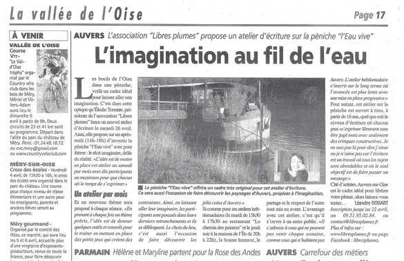 La Gazette du Val d'Oise, mercredi 2 avril 2014