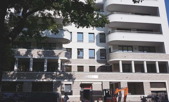 dgk architekten, Wohnungsbau, Wilhelmsaue, Berlin, Planung, Ausschreibung, Bauleitung
