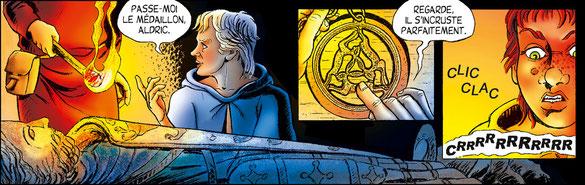 Bande dessinée Le Secret des anges et Geoffroy Plantagenêt