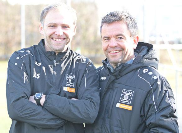 (li.:) Alex Sipos und Peter Körber (re.:)