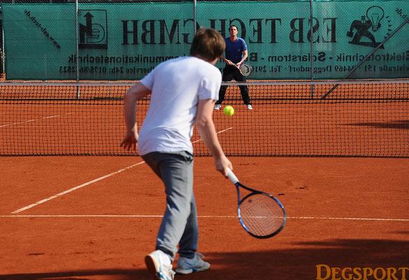 Die Sportler sind zurück auf den Tennisplätzen