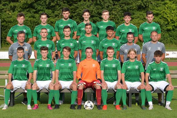 das Team der U19 Junioren der SpVgg GW Deggendorf