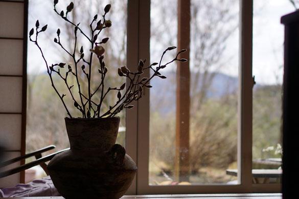 仲本律子 陶芸作家 ブログ 女性陶芸家 茨城県笠間市  花器