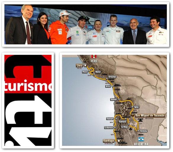 Rally Dakar 2013 en Perú, Chile y Argentina