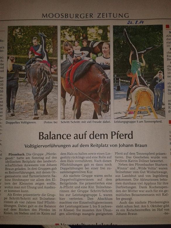 Moosburger Zeitung 22.08.2014