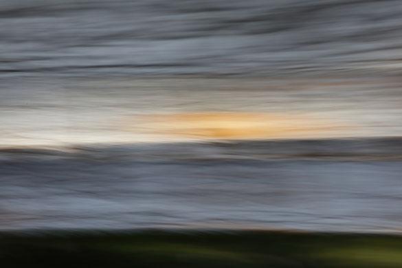 """""""Paysage impressionniste"""". Photographie éditée à 7 exemplaires et 2 épreuvres d'artiste. 2019."""