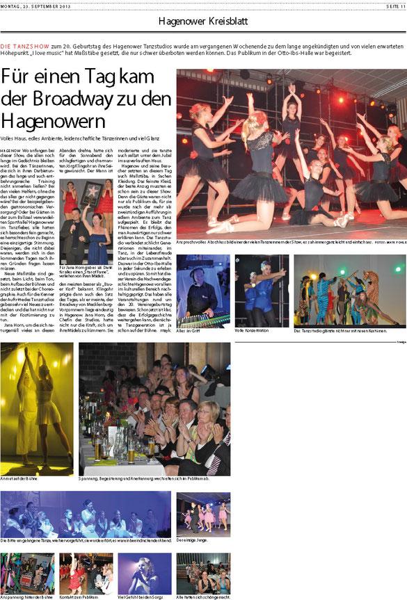 Artikel Mayk Pohle - Schweriner Volkszeitung