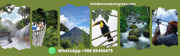 Tours, Transfers, Vacation Package Arenal Volcano Costa Rica