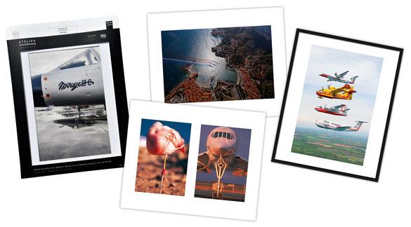 air france patrouille de france paf photographe peintre de l'air et de l'espace aéronautique avion Canadair concorde armée de l'air mirage III rafale