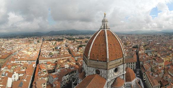 Freihand Panorama, Dom Florenz
