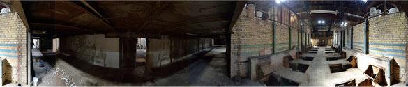 Alte Öfen einer Karamikfabrik