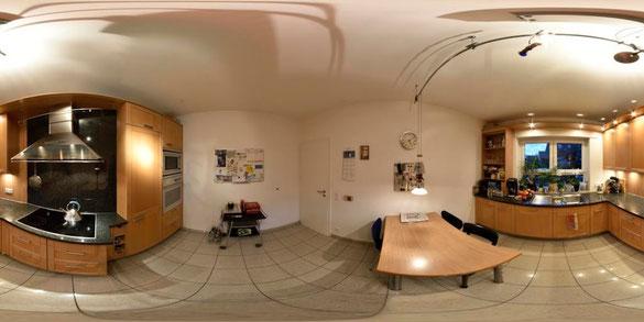 Spärisches 360° Panorama Küche, 3 x 4 m