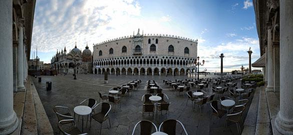 180° Panorama, Markusplatz Venedig, Venezien