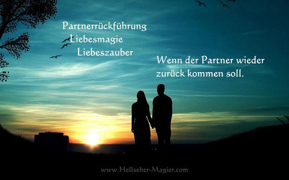 Mit Partnerrueckfuehrung, Liebeszauber und Liebesmagie den Partner zurückgewinnen