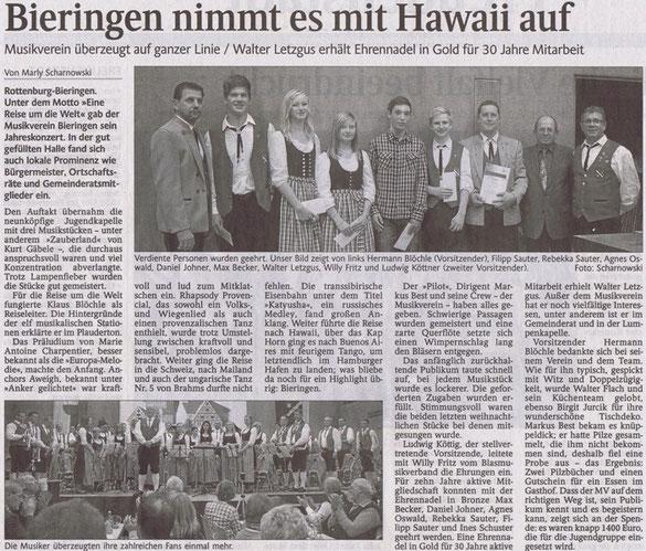 Schwarzwälder Bote vom 17.12.2012