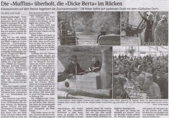 Schwarzwälder Bote vom 27.09.2012