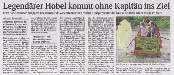 Schwarzwälder Bote vom 01.10.2013