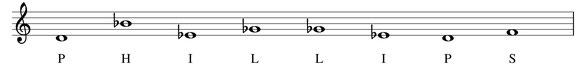 thème musical Phillips