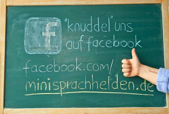 Knuddel uns auf facebook, wir haben es verdient!