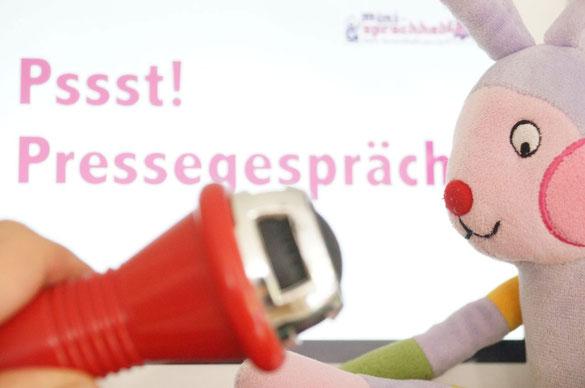 Unser Pressesprecher für Medienvertreter, Sponsoren und Investoren: Mini-Hase