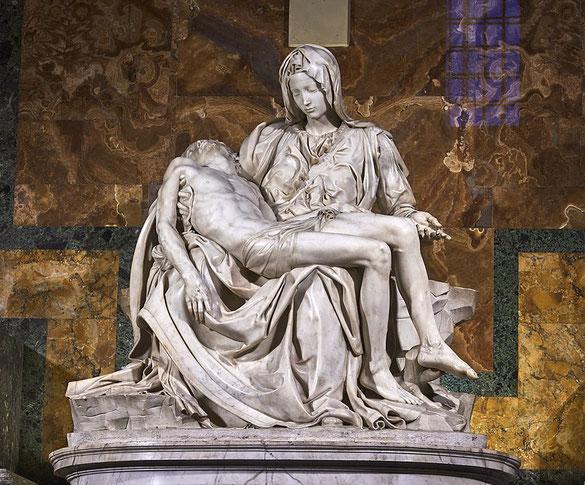 """Michelangelo, """"Pietà di S. Pietro"""""""