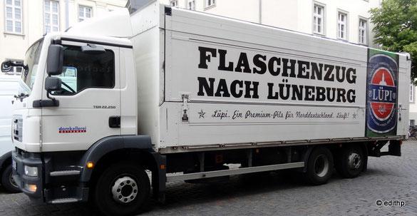 Flaschenzug nach Lüneburg