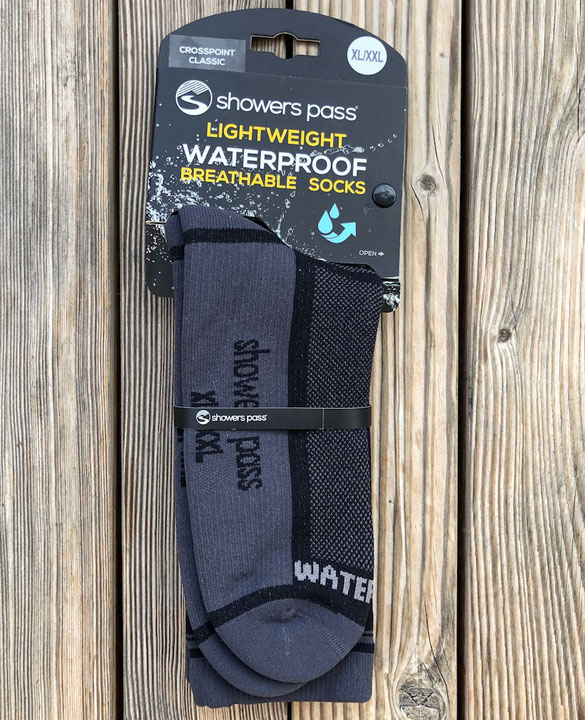 showers pass CROSSPOINT CLASSIC waterproof socks