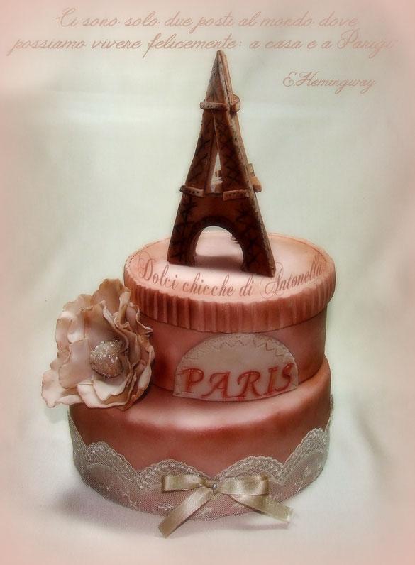 torta paris-torta parigi-torte decorate-la spezia-liguria
