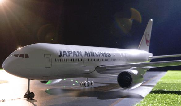 関西空港エリアで離発着する航空機イメージ