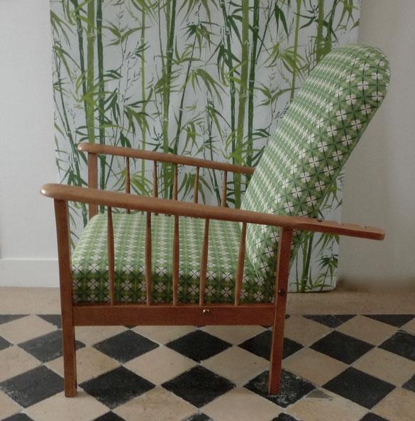 JOLI, fauteuil Morris, fauteuil vintage, fauteuil scandinave