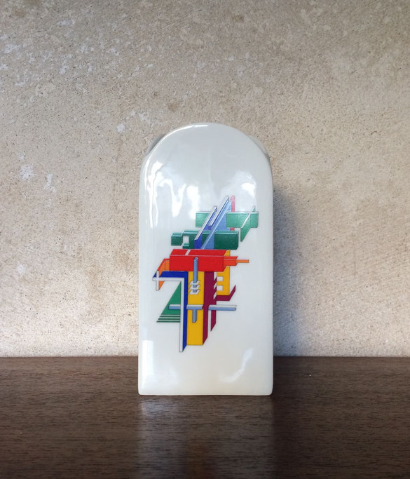 Rosenthal, studio linie, collection alphabet, vase Morandini, vase porcelaine