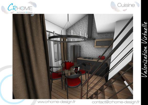 Appartement En Station - Crhome-Design - Architecture D'Intérieur