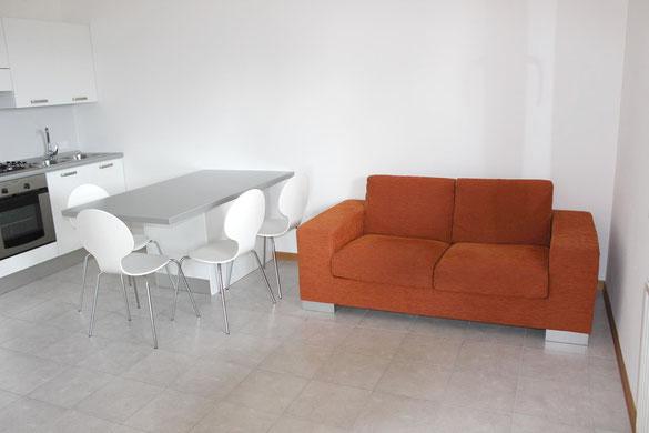 Immagine zona giorno mini + studio Viale Tricesimo Terminal Nord