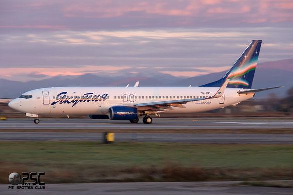 Boeing 737 Next Gen - MSN 28825 - VQ-BOY  Airline Yakutia Airlines
