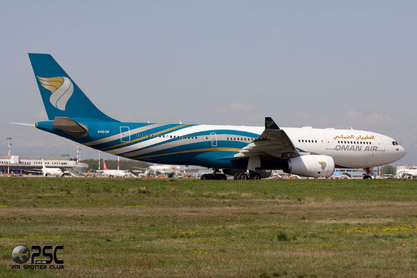 Airbus A330 - MSN 1120 - A4O-DF  Airline Oman Air