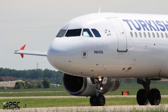 TC-JUF A320-232 2164 THY Turkish Airlines - Türk Hava Yollari (foto Marco Sangrigoli)