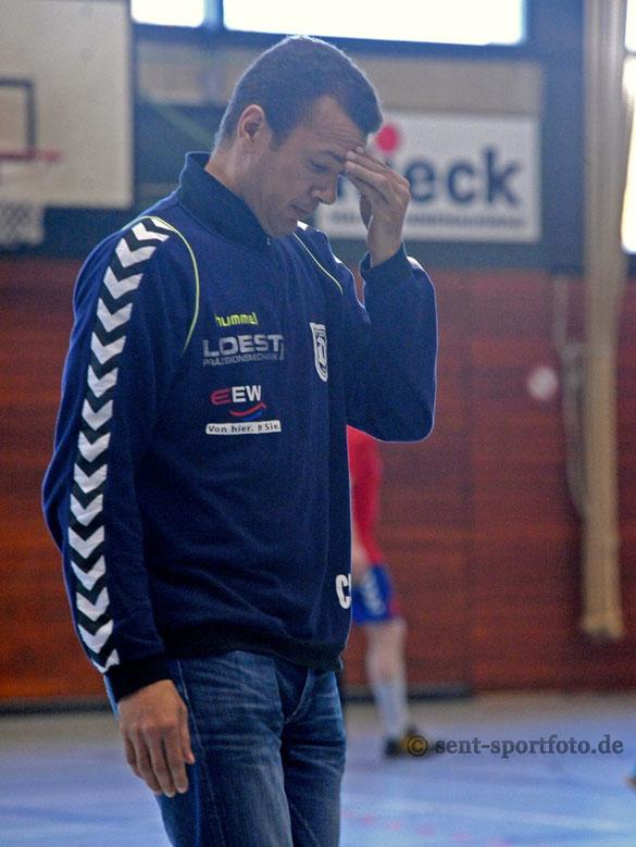 TV Jahn Duderstadts Trainer Christian Caillat