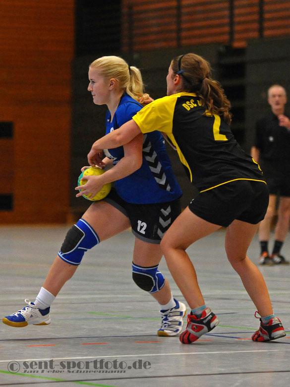 TV Jahn Duderstadt (blau) vs DSC Dransfeld